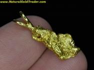 2.93 Gram Canada Gold Nugget Pendant
