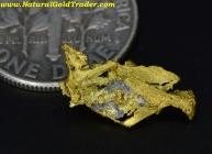 0.55 Gram Yukon Canada Gold Specimen