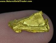 1.45 Gram Yukon Canada Gold Nugget Specimen