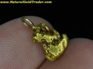 1.37 Gram Alaska Placer Gold Nugget Pendant