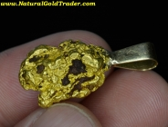 8.63 Gram Australia Gold Nugget Pendant
