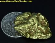 17.42 Gram Fairbanks Alaska Gold Nugget