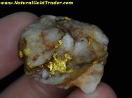 29.74 Gram Kalgoorlie Australia Gold & Quartz
