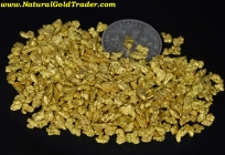 1 Ozt. 31.1 Grams of #10 Mesh MT. Gold Nuggets