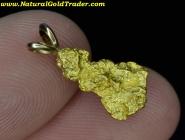 2.16 Gram Australia Gold Nugget Pendant