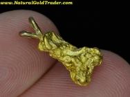 2.53 Gram W. Australia Gold Nugget Pendant