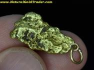 4.47 Gram Alaska Placer Gold Nugget Pendant