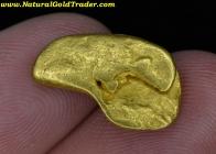 4.52 Gram Napo River Ecuador Gold Nugget