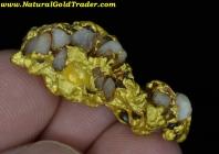13.45 Gram Victoria Aus. Gold/Quartz Nugget