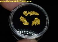 1.59 Grams (3) Arizona Gold Basin Gold Nuggets