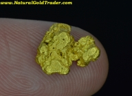 1.79 Gram Mexico Placer Gold Nugget