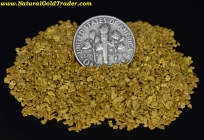 1 Ozt. 31.1 Gms of #16-20 Mesh MT. Gold Nuggets