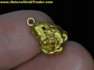2.59 Gram Alaska Gold Nugget Pendant