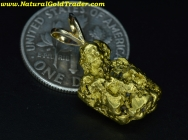 4.94 Gm Applegate Riv OR. G. Nugget Pendant
