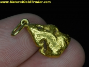 6.81 Gram Oregon Gold Nugget Pendant
