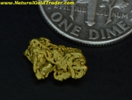 .65 Gram Baker Oregon Wire Gold Specimen