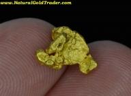1.82 Gram Australia Placer Gold Nugget