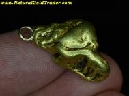 16.50 Gram Alaska Gold Nugget Pendant