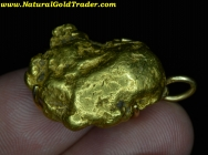 23.96 Gram Oregon Gold Nugget Pendant