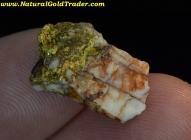 2.41 Gram California Gold & Quartz Specimen