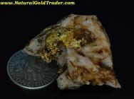 12.42 Gram California Gold & Quartz Specimen