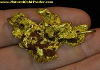 36.72 Gram Nevada Gold Nugget Pendant