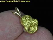 2.04 Gram Alaskan Gold Nugget Pendant