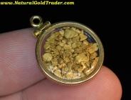 4.47 Gram Alaska Gold Filled Bezel Pendant
