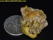 14.78 Gram El Dorado California Gold Quartz