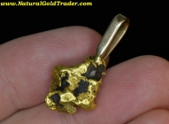 10.45 Gram Alaska Gold Nugget Pendant