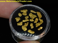 1.18 Grams (18) Alaska Placer Gold Nuggets