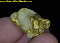 14.14 G. Murray Idaho Gold & Quartz Specimen