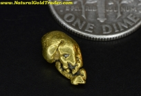 1.28 Gram Fairbanks Alaska Gold Nugget