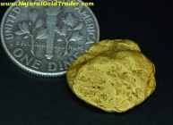 5.37 Gram Gold Basin Arizona Gold Nugget