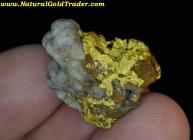13.44 G. Mohave County Arizona Gold Specimen