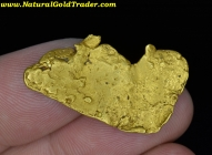 5.01 Gram Baker Oregon Natural Foil Gold Nugget