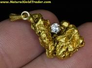 10.19 Gram California Gold Nugget Pendant