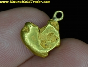 3.34 Gram Oregon Gold Nugget Pendant