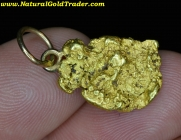 4.90 Gram Oregon Gold Nugget Pendant
