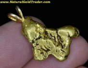 9.05 Gm. Eastern Oregon Gold Nugget Pendant