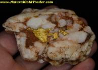 183.07 Gram California Gold & Quartz Specimen