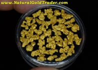 .5 ozt 15.55 Grams (44) Montana Gold Nuggets