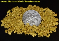 1 Ozt. 31.1 Grams Helena Montana Gold Nuggets