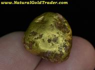 12.86 G. Murray Idaho Red Quartz & Gold