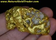 104.36 G. Large Natural Alaskan Gold Nugget