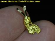.94 Gram Alaskan Gold Nugget Pendant