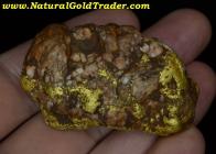 115.85 Gram Folsom California Gold & Quartz