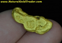 6.63 G California Feather River Gold Nugget