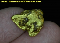 7.29 G. British Columbia Placer Gold Nugget