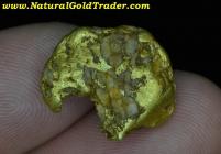 10.02 G. Murray Idaho Natural Gold & Quartz